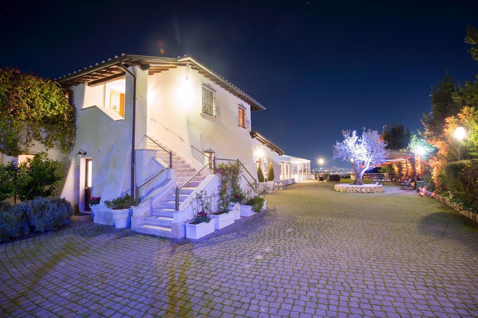 Notturno - Villa parco della Vittoria
